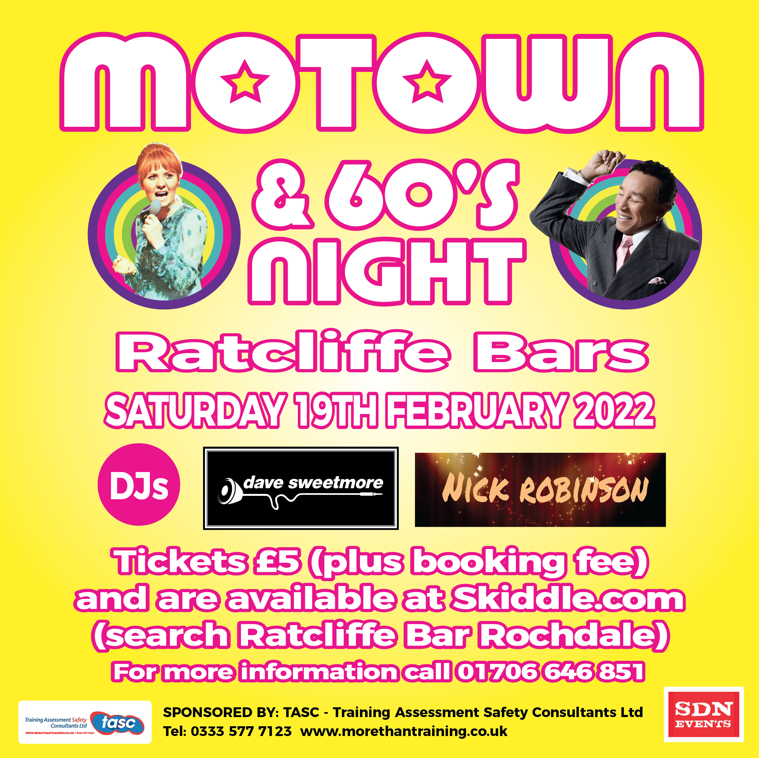 SHOUT! Motown & 60's Night - The Return Of...